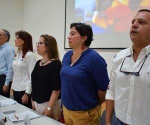 El Comisionado de Paz participa de una jornada académica en la Universidad Antonio Nariño sede Santa Marta.