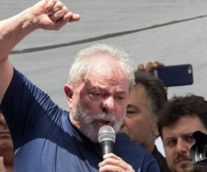 Expresidente Lula Da Silva.