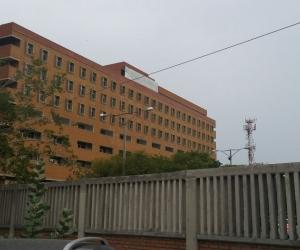 Fachada del hospital Fernando Troconis.