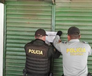 Operativo a establecimiento ubicado en Bello Horizonte.