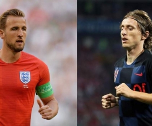 Harry Kane y Luka Modric.