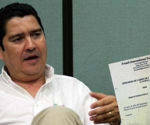 Mauricio Suárez, exgerente de la Sociedad Portuaria y Carbosán.