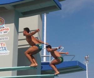 Las selecciones de natación y clavados se preparan rigurosamente en el complejo acuático Bolivariano ´Vida´