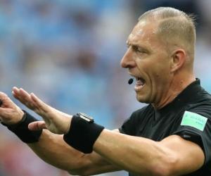 El arbitro argentino Néstor Pitana.