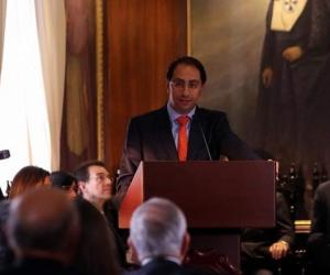 José Manuel Restrepo - Ministro de Comercio.