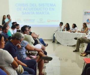 Essmar, Veolia e Interaseo escucharon a miembros de la Localidad 3.