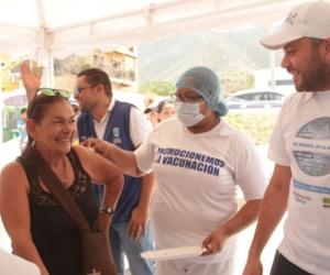III Jornada Nacional de Vacunación se desarrolló en el corregimiento de Taganga.