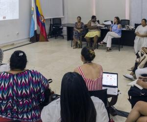 Reunión de la Mesa Diversa en Santa Marta.