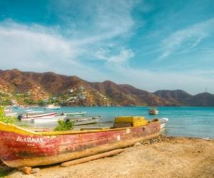 Bahía de Taganga.