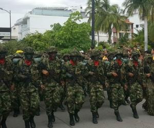 El desfile culminará en el Batallón Córdoba.