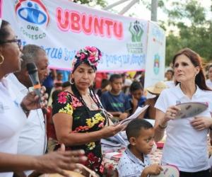 Gobernadora en la celebración del Día internacional de la mujer afrolatinoamericana, afrocaribeña y de la diáspora.