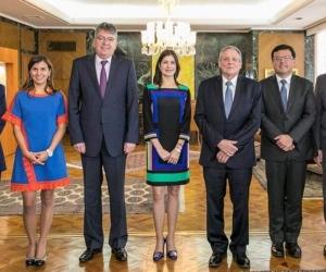 Miembros de la Junta del Banco de la República.