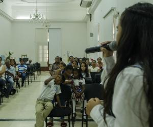 Niños socializaron propuestas en el proceso de elección del Gabinete Infantil.
