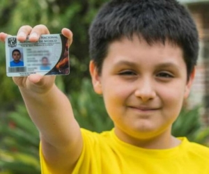 Carlos Antonio Santamaría Díaz, de 12 años, cursará Física Biomédica en la UNAM.