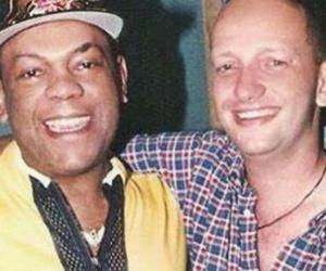 Joe Arroyo y Chelito de Castro.