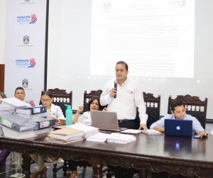 Carlos Payares, director de la oficina del PAE de la Gobernación del Magdalena.
