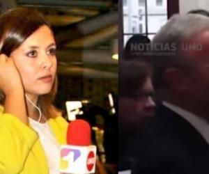 Paola Rojas, periodista amenazada por dar a conocer polémico video de una reunión del Centro Democrático.
