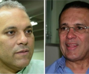 José David Name y Efraín Cepeda.