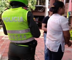 Lilian Gibellys Gómez Manjarrés, presunta asesina.