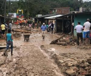 Lluvias en el Putumayo
