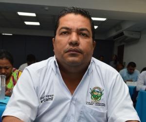 José Díaz Marchena, alcalde del municipio de Salamina.