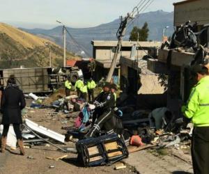 Tragedia de Papallacta, Ecuador.