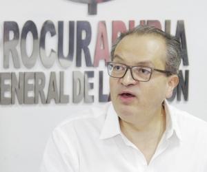 Fernando Carrillo, procurador general de la Nación.
