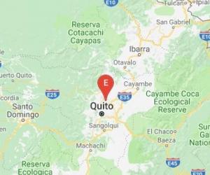 Quito fue el epicentro del temblor.