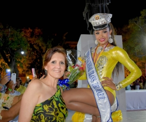 La Gobernadora, Rosa Cotes junto a la nueva  Capitana Nacional Trans del Mar, María Alejandra Ardila