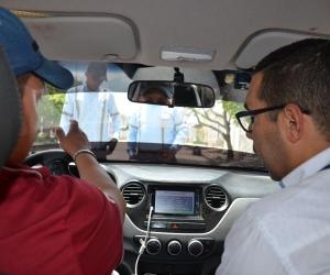 El proceso se realizará en los 3.583 taxis que tiene la ciudad.