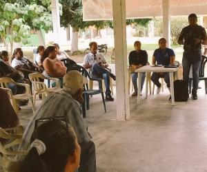 Alto Consejero para la Sierra Nevada y la Zona Rural y la secretaría de Salud distrital escucharon a la comunidad.