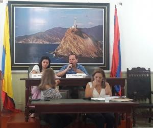 Plenaria de la Asamblea del Magdalena este martes.