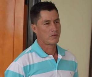 Lider social colombiano Alirio Antonio Arenas Gómez.