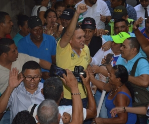 El alcalde de Ciénaga, Edgardo Pérez Díaz.