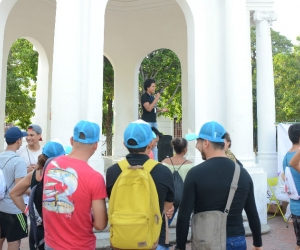 Primer rally turístico en el Centro Histórico.