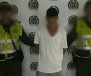 Sujeto capturado en Fundación por ser presunto abusador.