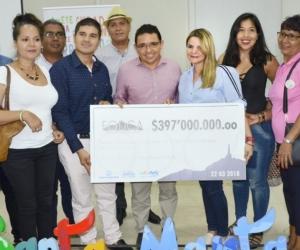Gestores culturales de Santa Marta.