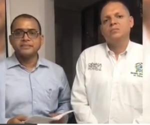 Alex Fernández y Edgardo Pérez.