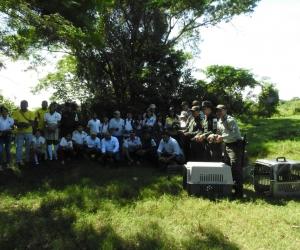 Las actividades de liberación de especies involucran a colegios para que aprendan sobre conservación.