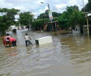 Imagen de referencia - Inundaciones en Fundación, Magdalena.