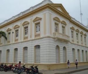 Fachada de la Alcaldía de Ciénaga.