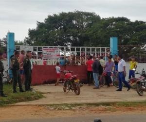 Los animales fueron conducidos al Coso Municipal a espera que sus propietarios los reclamen.