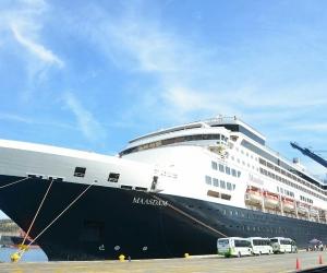 Llegó este jueves procedente de Fort Lauderdale, Florida, Estados Unidos con 1.037  pasajeros y 601.