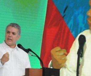 Iván Duque presidente de Colombia.