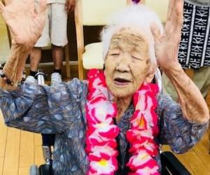 Kane Tanaka es la mujer más longeva de Japón con 115 años.