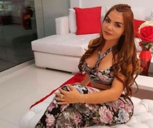 Nini Yohana Arrieta Castillo, apodada 'la Chica Plástica'.