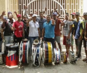 Integrantes de la Garra Samaria Norte
