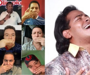 Estos son varios los cantantes, compositores y acordeoneros que se unieron en la campaña en contra del locutor Álvaro Álvarez.