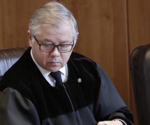 El presidente de la Corte Suprema de Justicia (CSJ) de Colombia, José Luis Barceló,