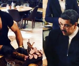 Nicolás Maduro y su esposa, en Turquía.